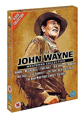 The John Wayne Westerns Collection (Hondo, Mclintock!, True Grit, Rio Lobo, El Dorado, Big Jake, The Shootist, The Sons of Katie Elder, The Man Who Shot Liberty Valance) [Import anglais]