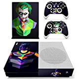 #7: Hytech Plus Batman & The Joker Special Cartoon Edition Theme Sticker for Xbox One S Console & 2 Controllers