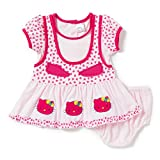 Camey Girls Cotton Pink Frock Set (18-24...