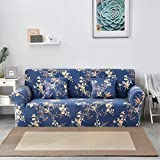SSDLRSF 24colors Schonbezug Stretch Four Season Sofabezüge Möbel Protector Polyester Loveseat Couch Cover Sofa Handtuch 1/2/3/4-Sitzer (145-185cm), Farbe 15,2 Sitzer