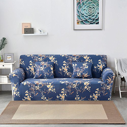 SSDLRSF 24colors Schonbezug Stretch Four Season Sofabezüge Möbel Protector Polyester Loveseat Couch Cover Sofa Handtuch 1/2/3/4-Sitzer...