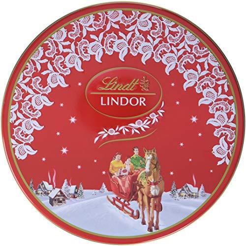 Preisvergleich Produktbild Lindt & Sprüngli Lindor Nostalgie Keksdose,  1er Pack (1 x 350 g)