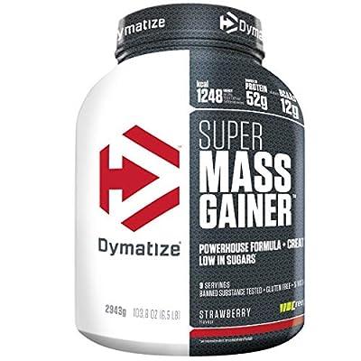 Dymatize Super Mass Gainer, Strawberry - 2.9kg from Dymatize