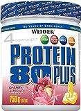 Weider, 80 Plus Protein, Kirsch-Marzipan, 1er Pack (1x 750g)