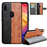 LFDZ Compatible with Redmi 7 Case/Redmi Y3 Case,PU Leather