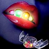 OverDose LED Light Up Flashing Mouth Piece Glow Teeth For Party Rave Event
