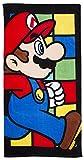 Nintendo Handtuch Super Mario Towel Retro Badetuch Kinder-Handtuch Super Mario Bros.