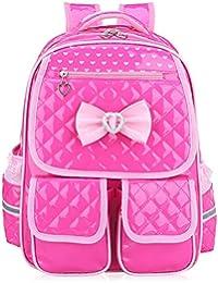 Abshoo Child School Bookbag Cute Kids School Backpacks for Girls (Rose Red) e805472a8944f