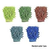 Car Wash Mitt, Doppelseite Premium Chenille Mikrofaser, Ultra-Soft-Waschhandschuh für die Auto-Reinigung, kratzfreie Not Fall Wolle