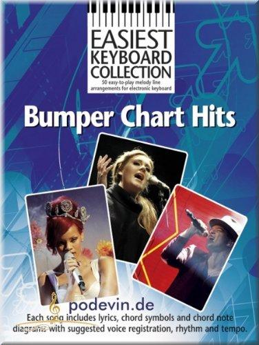 Bumper Chart Hits - Easiest Keyboard Collection - Keyboard Noten [Musiknoten] (Edge-fall Heys)