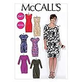 McCall's Cartamodello da cucito per abito Donna M7085, 44-52