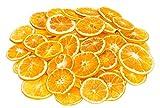 NaDeco Orangenscheiben 50 Stück | Getrocknete Orangenscheiben | Weihnachtsdekoration | Adventsdekoration | Bastel Material für die Weihnachtszeit