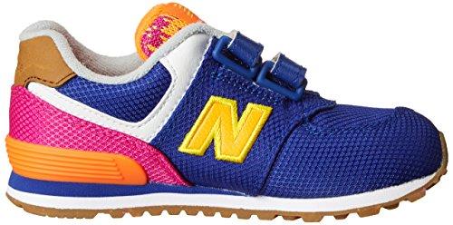 New Balance - NBKG574T5I - Debout Chaussures Bébé Multicolore (Purple Pink)