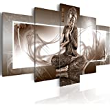 visario 5502 tableau sur toile motif bouddha 5 pi ces 160. Black Bedroom Furniture Sets. Home Design Ideas