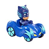 #5: Disney's PJ Masks Cartoon Characters Catboy Owlette Gekko With Car Action Figure Toys Gift For Children (Catboy)
