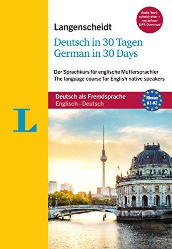 Langenscheidt Deutsch in 30 Tagen - German in 30 days - Sprachkurs mit Buch, 2 Audio-CDs, 1 MP3-CD...