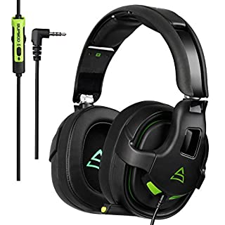 MASUNN Supsoo G818 Gaming Headset Headphone 3.5mm Pure Stereo Over-ear with Microphone Line Control