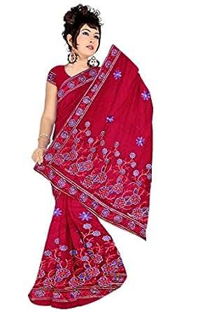 Aalia Cotton Saree (Abhinandanmaroon_Maroon)