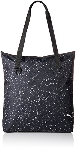 Puma Damen Fundamentals Shopper Ii Tasche puma black-puma white-Speckle