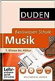 Duden. Basiswisssen Schule. Musik: 7. Klasse bis Abitur (Basiswissen Schule)