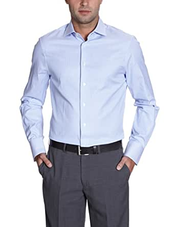 Arrow Herren Businesshemd Slim Fit, gestreift DEVON SLIM FIT SC / CL00311I82, Gr. 38, Blau (062 Light Blue)