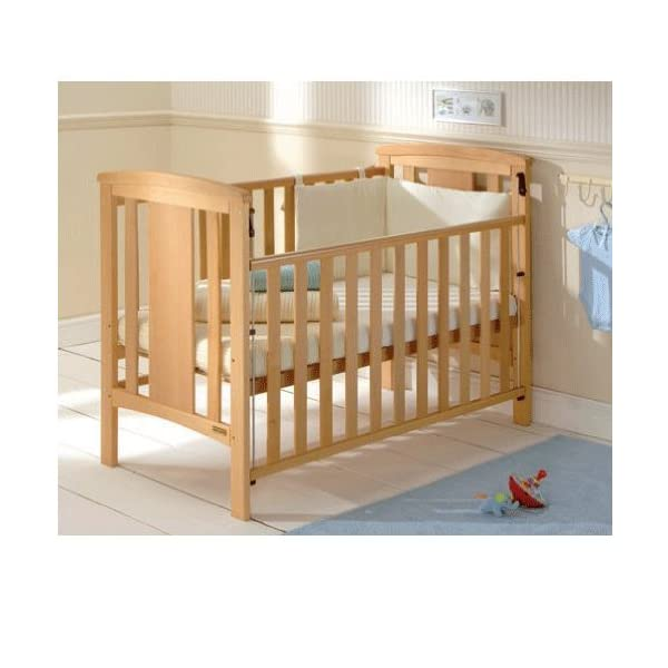 East Coast Katie Dropside Cot (Beech) East Coast Nursery Ltd East Coast Katie Cot has drop sides that safely lower for easy access Features two protective teething rails and three adjustable base heights Crafted in beech with a natural finish, delivered flatpacked 2