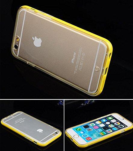 iPhone 6 Coque, Aerb Xian Série Coque de Protection Léger Snap-on pour iPhone 6 4.7 i6 J-Yellow Case