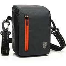 First2savvv BDV2501 negro calidad de lujo bolsa impermeable de Cámara acolchada bolsa de la cámara SLR DSLR caso de la protección Funda de para olympus STYLUS 1 SZ-31MR SZ-14 SP-620UZ SP-810UZ SP-610UZ E-450 E-PL5 E-PM2 E-PM1 XZ-2