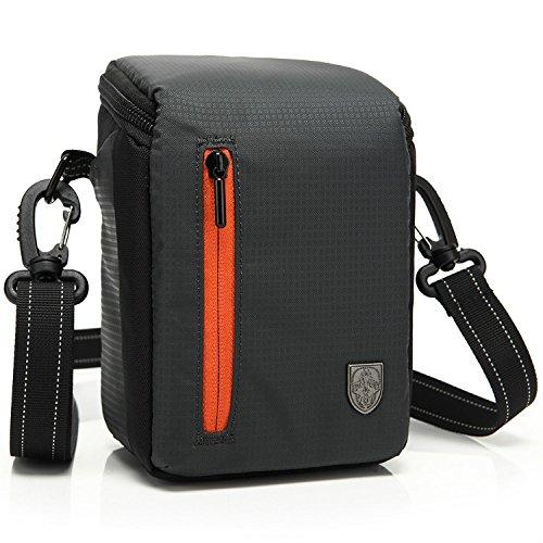 First2savvv BDV2501 negro calidad de lujo bolsa impermeable de Cámara acolchada bolsa de la cámara SLR DSLR caso de la protección Funda de para SONY MHS-TS10 MHS-TS20K MHS-TS22 HDR-PJ810E HDR-PJ530E HDR-PJ330E HDR-PJ240E HDR-CX240E panasonic HC-V130EB-K HC-V250EB HC-V550CT HC-V750EB-K HC-W850EB-K