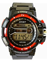 VITREND C-Shock Water Resist-Cold Back Light-Stander Display -001-Sports Digital Watches For Men And Women(Random...