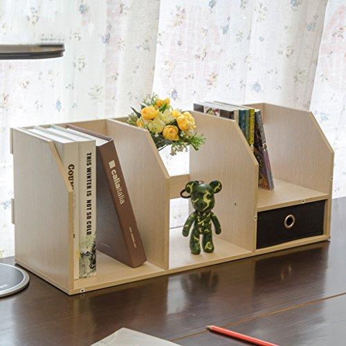 MENA Home/Mit Schubladen Office Kleine Bücherregale Mini Creative Desktop Bücherregal Regal -