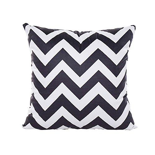 koperras Super Soft Square Decorative Pillowcases,45cm x 45cm (18in x 18in),Eco-Friendly Throw Cushion Cover Home Decor Case Zebra Design Cover Case