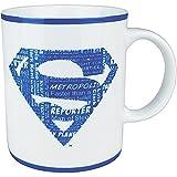 DC Comics - Superman Retro Tasse Geschenktasse - Superman Logo