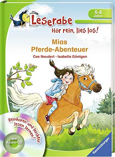 Mias Pferde-Abenteuer (Leserabe - Hör rein, lies los!)