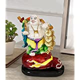 TiedRibbons Laughing Buddha Statue For Office And Home Decor Outdoor Decorative Garden Decor Sculptures Showpiece Statue Figurines Items For Living Room Drawing Room Bed Room Interior Outdoor Decorative Items In Garden