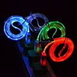 1M USB Data Sync Charger Lead Cable For iphone 5, 6, 6 Plus LED LIGHTS UP