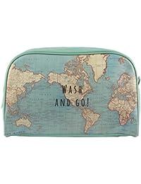 Sass & Belle CHC093 - Neceser vintage mapa
