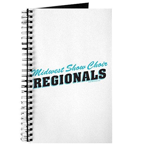 Rezepte Midwest (CafePress–Glee Regionals Retro–Spiralbindung Journal Notebook, persönliches Tagebuch, Dot Grid)