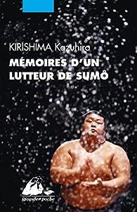 Memoires d'un lutteur de sumô par Kazumi Yoshinaga