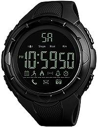 yimosecoxiang - Reloj de Pulsera para Hombre, Resistente al Agua, con Pantalla Digital y