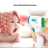 Duomishu Infrarot Fieberthermometer Ohrthermometer für Baby
