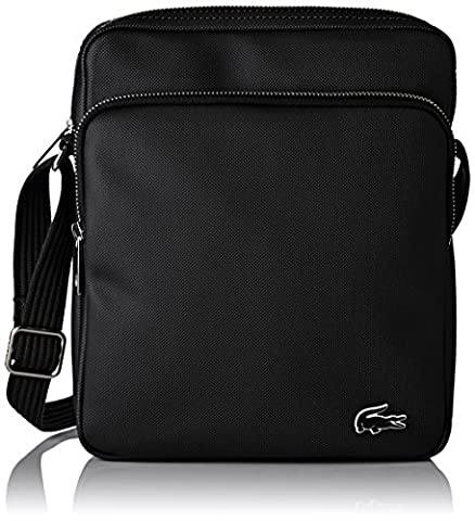 Lacoste Sacoche - Lacoste NH2000HC, Sac Bandouliere Homme, Black, 26