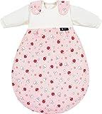 Alvi Schlafsack Baby Mäxchen mit Druckmotiv rosa Größe 74 / 80