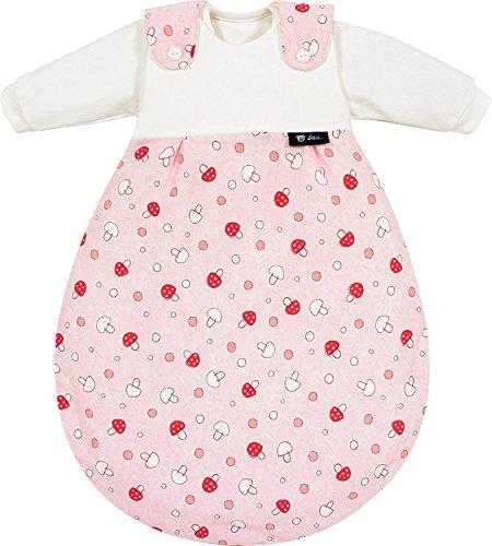 Alvi 713-2 Baby-Mäxchen 3tlg. Glückspilz rosa Das Original, Größe:74/80