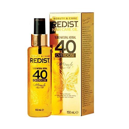 Redist Huile pour cheveux Overdose Miracle aux 40 plantes 150 ml