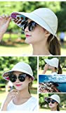 Cyril Folding Foldable Uv Protection Sun Hat Visor (Beige)