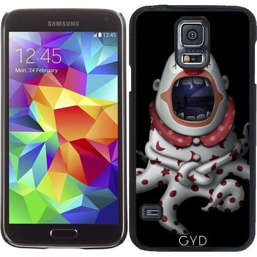 Hülle für Samsung Galaxy S5 (SM-G900) - In Der Mündung Des Clown by GiordanoAita (Clown Für Samsung Galaxy S5 Fall)