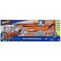 Hasbro C2543EU5 Nerf N-Strike Elite AccuStrike RaptorStrike Value Pack - Big Bonus Set with 4 Magazines, 24 Darts and 6 Targets