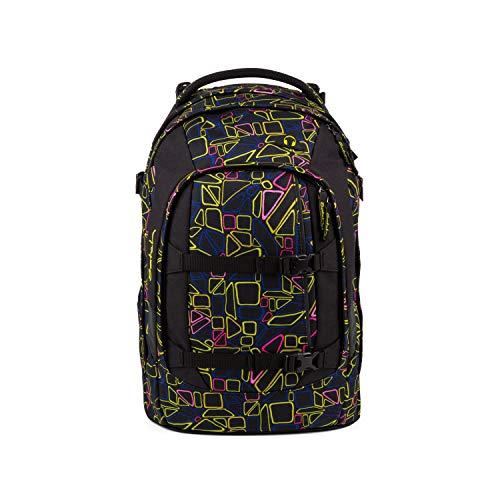 satch Pack ergonomischer Schulrucksack für Mädchen und Jungen - Disco Frisco Große Disco
