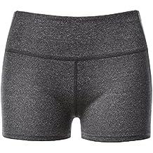 LAPASA Pantalón Corto Deportivo para Mujer (Running, Fitness, Estiramiento)